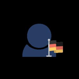 Echte deutsche Follower